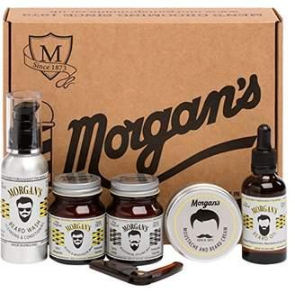 Morgan Moustache & Beard Gift Set