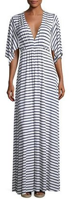 Rachel Pally Striped Caftan Maxi Dress $242 thestylecure.com