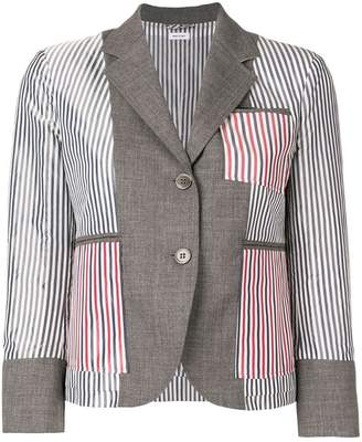 Thom Browne Inside-Out Wool Sport Coat