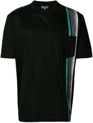 Lanvin contrast stripe T-shirt