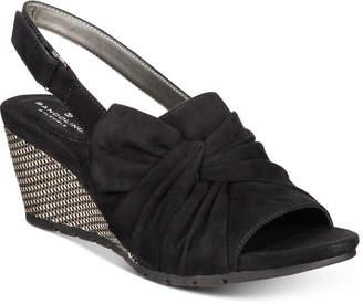 Bandolino Gayla Slingback Wedge Sandals Women's Shoes
