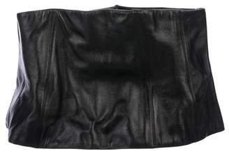 Chanel Lambskin Corset Belt