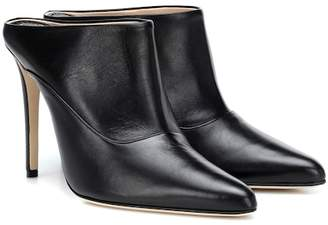 Altuzarra Davidson leather mules