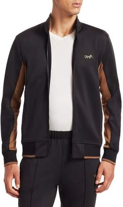 Ovadia & Sons Leopard Track Jacket