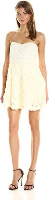 Ark & Co Women's Strapless Bandage Top Fit and Flare Dress