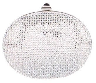 Judith Leiber Embellished Oval Clutch $495 thestylecure.com