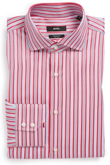 HUGO BOSS 'Gerald' WW Regular Fit Dress Shirt