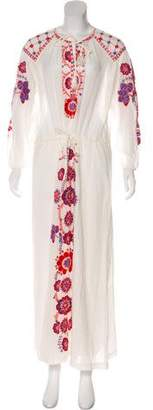 Antik Batik Embroidered Maxi Dress