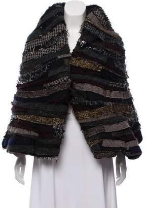 Junya Watanabe Wool-Blend Open Font Vest