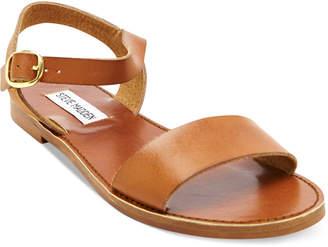 a74b63f396e Steve Madden Brown Flat Women s Sandals - ShopStyle