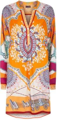 Hale Bob Jamie Long Sleeve Dress