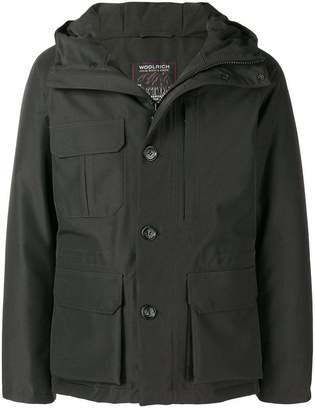 Woolrich long sleeved padded jacket