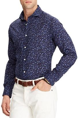 Polo Ralph Lauren Floral Cotton Classic Fit Button-Down Shirt $145 thestylecure.com