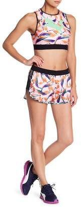 Puma Patterned Mesh Detailed Shorts