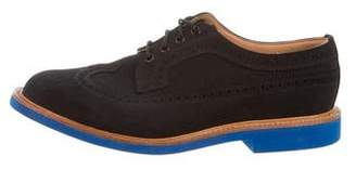 Mark McNairy New Amsterdam Suede Wingtip Brogues