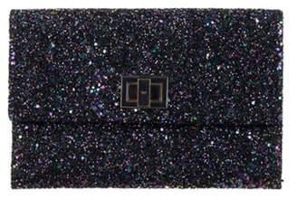 Anya Hindmarch Valorie Glitter Clutch Metallic Valorie Glitter Clutch