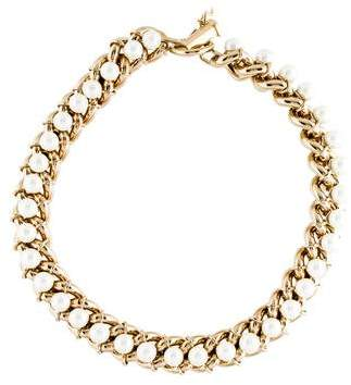 Jason Wu Faux Pearl Collar Necklace