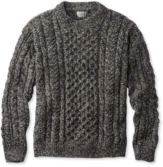 L.L. Bean L.L.Bean Heritage Sweater, Irish Fisherman's Crewneck
