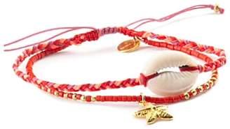 Chan Luu Starfish Shell Bracelet