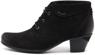 Earth Teak Black Boots Womens Shoes Casual Ankle Boots