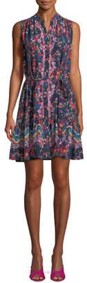 Saloni Tilly Sleeveless Mini Dress