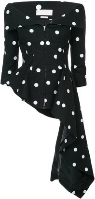 Monse polka dot top
