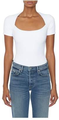 Tudor Alix White Short Sleeve Bodysuit