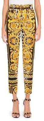 Versace (ヴェルサーチ) - Versace Mix-Print Trousers