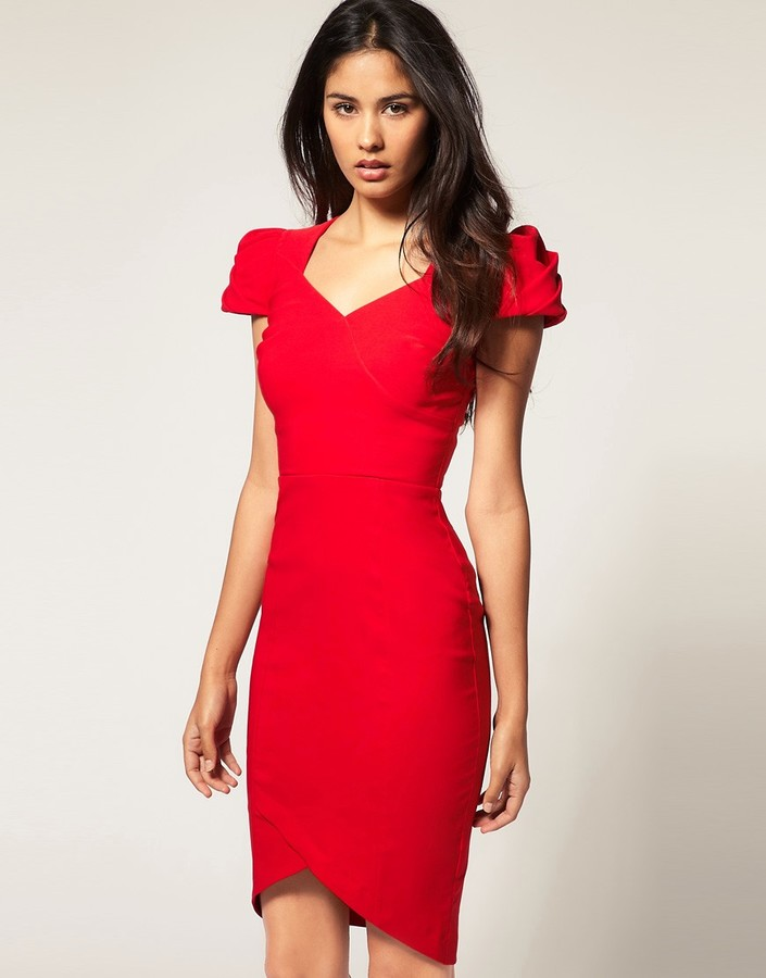 Hybrid Dress With Sweetheart Neckline And High Hemline