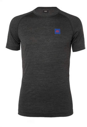 Soar Running Wool And Silk-Blend Base-Layer T-Shirt