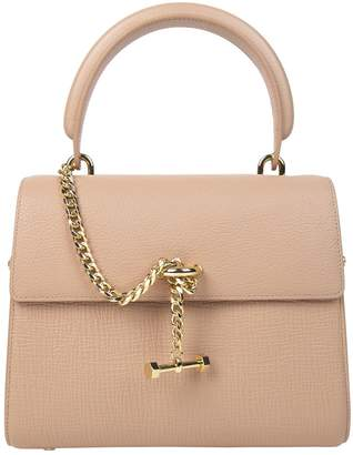 Luana Pink Leather Handbag