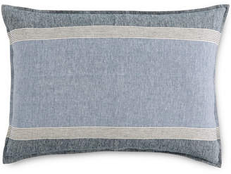 Hotel Collection Linen Stripe Standard Sham, Created for Macy's Bedding
