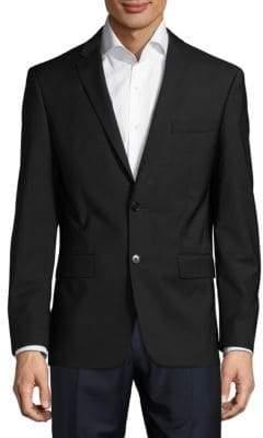 John Varvatos Regular Fit Solid Wool Sportcoat