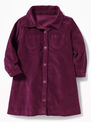 Old Navy Corduroy Shirt Dress for Baby