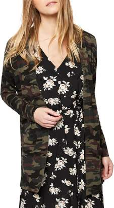 Sanctuary Camo Print Camp Cardigan