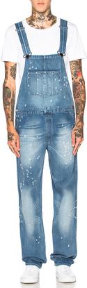 Givenchy Denim Overalls $1,495 thestylecure.com