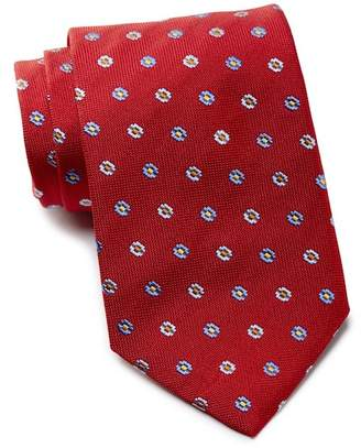 David Donahue Flower Silk Tie