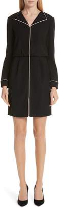 Emporio Armani Contrast Piping Shirtdress