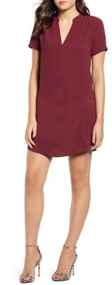 ALL IN FAVOR Hailey Crepe Dress