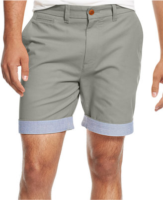 """Tommy Hilfiger Men's Big & Tall 9-1/2"""" Custom-Fit Chino Shorts $55 thestylecure.com"""