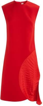 Victoria Beckham Pleated Hip Dress
