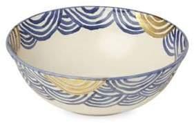 Michael Wainwright Pompeii Blu Sea Large Serving Bowl