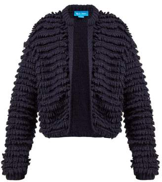 MiH Jeans Foxwell Loop Knit Cardigan - Womens - Navy