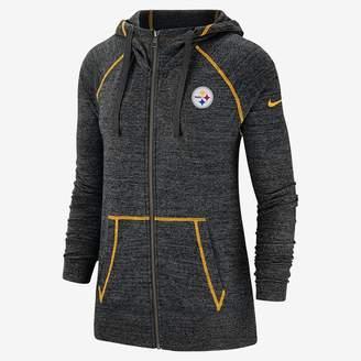 Nike Women's Full-Zip Hoodie Gym Vintage (NFL Steelers)