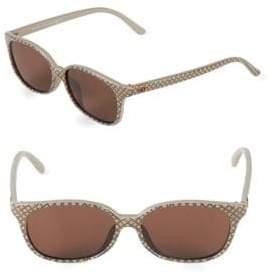 Gucci 54MM Oval Sunglasses