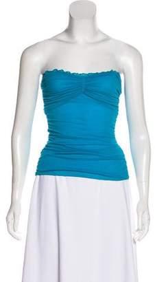 Diane von Furstenberg Strapless Silk Top