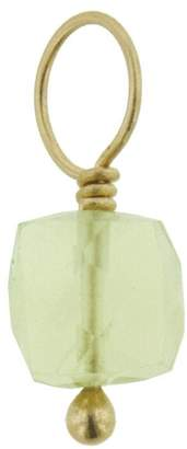 Heather B Moore Lemon Citrine Charm - Yellow Gold