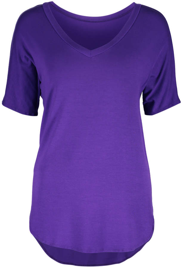 Purple Pride V-Neck Top - Women