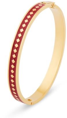 Florence London Red Diamond Enamel Bracelet