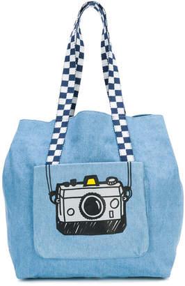 Stella McCartney camera print shoulder bag
